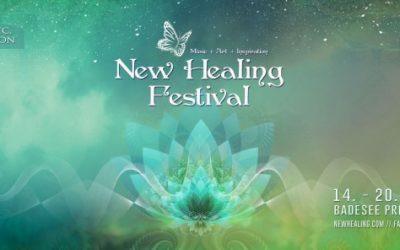 Gong und K.I. auf dem New Healing Festival