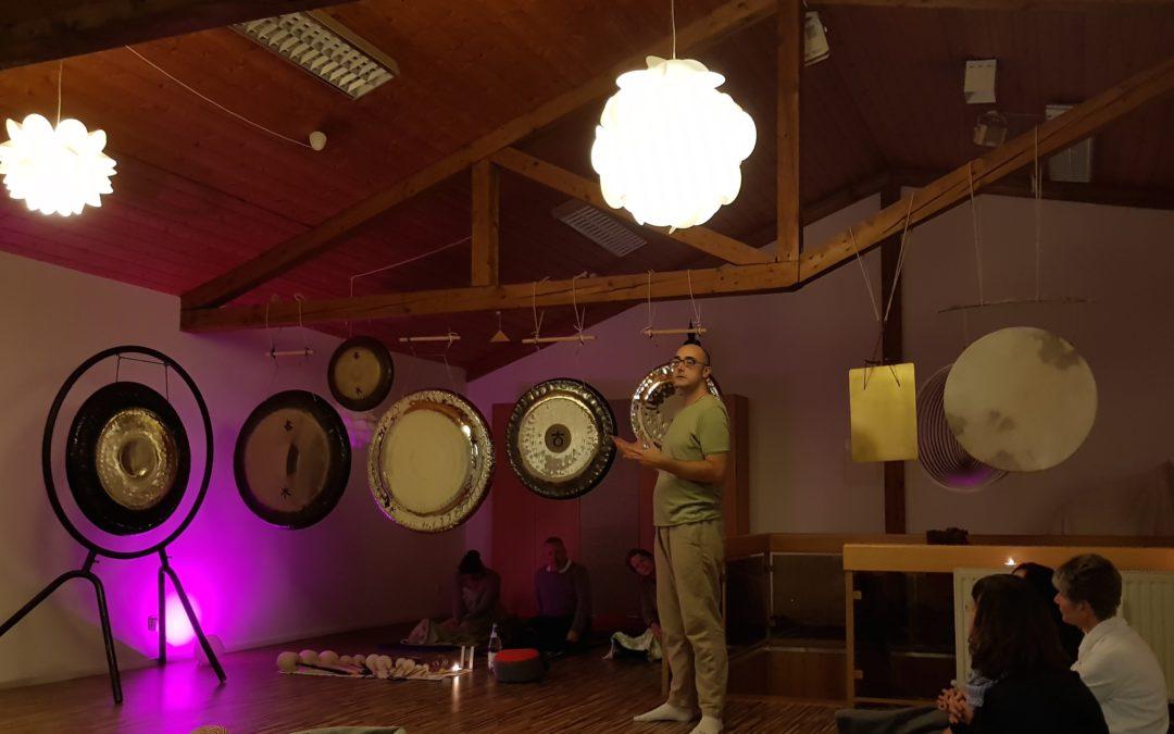 Bericht Vollmond Gong Meditation
